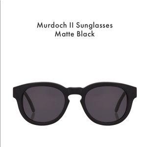 illesteva Murdoch II Sunglasses Matte Black